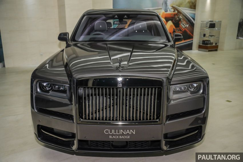 GALLERY: Rolls-Royce Cullinan Black Badge close-up Image #1157647
