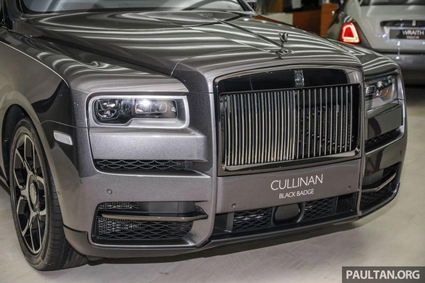 GALLERY: Rolls-Royce Cullinan Black Badge close-up Image #1157650