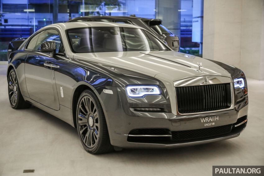 Rolls-Royce Wraith Eagle VIII – LE marks first non-stop transatlantic flight, 1 of 50 sold for RM3.3m in Malaysia Image #1159748