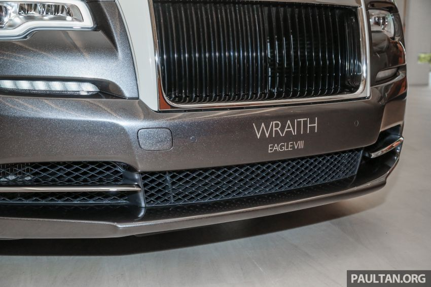 Rolls-Royce Wraith Eagle VIII – LE marks first non-stop transatlantic flight, 1 of 50 sold for RM3.3m in Malaysia Image #1159758