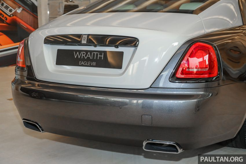 Rolls-Royce Wraith Eagle VIII – LE marks first non-stop transatlantic flight, 1 of 50 sold for RM3.3m in Malaysia Image #1159772