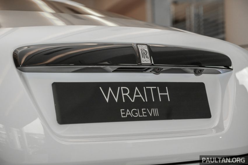 Rolls-Royce Wraith Eagle VIII – LE marks first non-stop transatlantic flight, 1 of 50 sold for RM3.3m in Malaysia Image #1159777