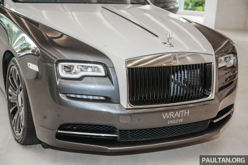 Rolls-Royce Wraith Eagle VIII – LE marks first non-stop transatlantic flight, 1 of 50 sold for RM3.3m in Malaysia Image #1159753