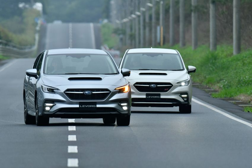 2020 Subaru Levorg officially debuts in Japan – SGP platform; new 1.8L turbo boxer engine and EyeSight X Image #1163979