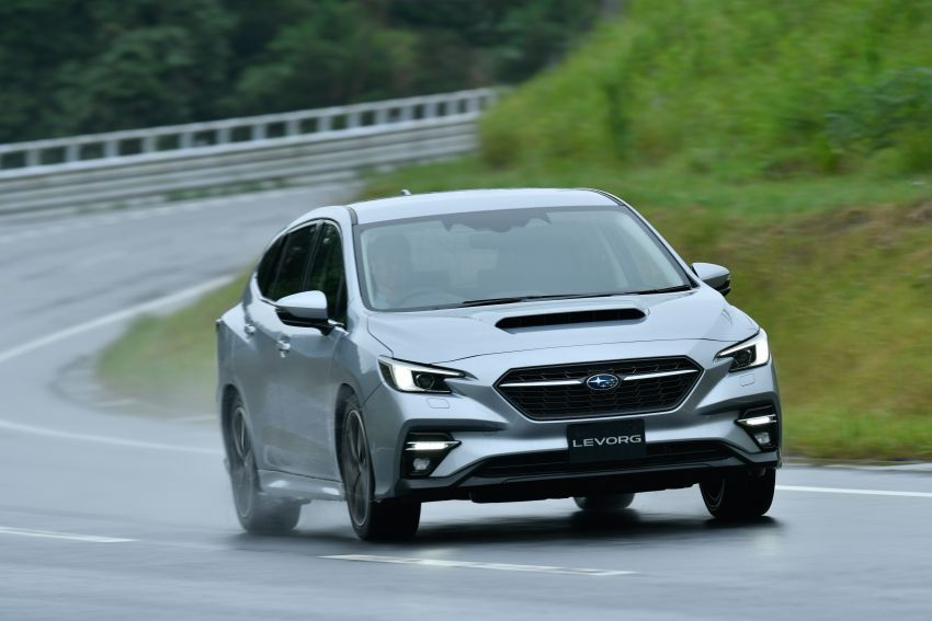 2020 Subaru Levorg officially debuts in Japan – SGP platform; new 1.8L turbo boxer engine and EyeSight X Image #1163886