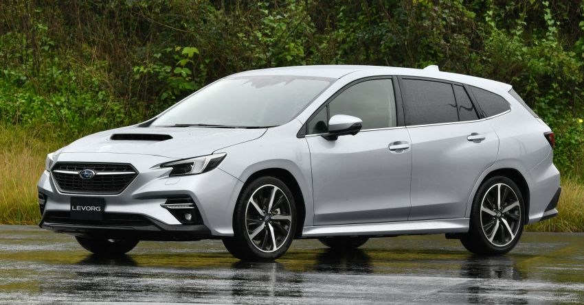 2020 Subaru Levorg officially debuts in Japan – SGP platform; new 1.8L turbo boxer engine and EyeSight X Image #1163893