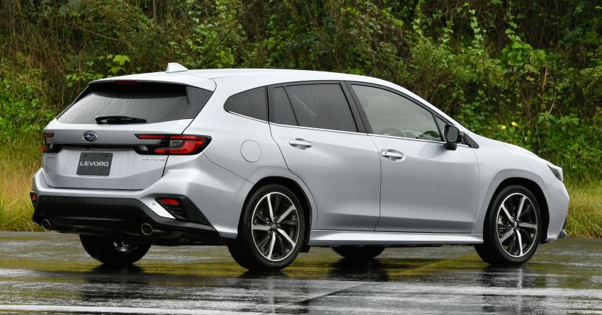 2020 Subaru Levorg officially debuts in Japan – SGP platform; new 1.8L turbo boxer engine and EyeSight X Image #1163902