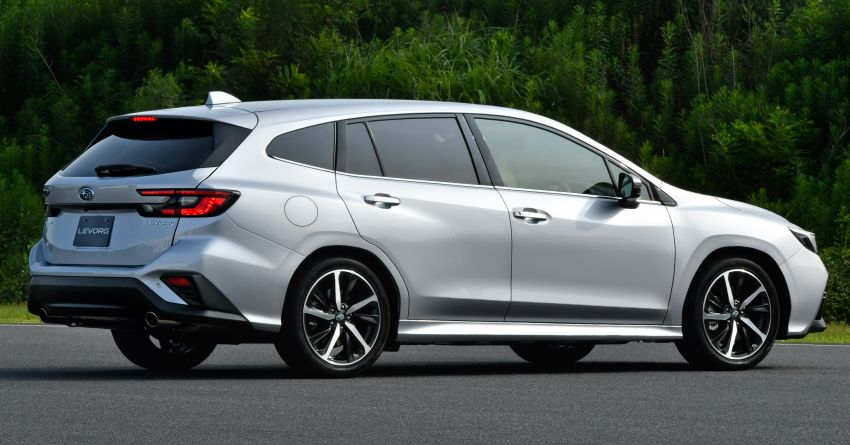 2020 Subaru Levorg officially debuts in Japan – SGP platform; new 1.8L turbo boxer engine and EyeSight X Image #1163920