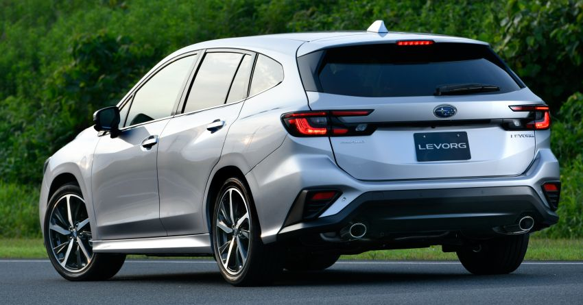 2020 Subaru Levorg officially debuts in Japan – SGP platform; new 1.8L turbo boxer engine and EyeSight X Image #1163923