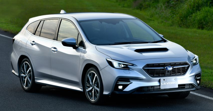 2020 Subaru Levorg officially debuts in Japan – SGP platform; new 1.8L turbo boxer engine and EyeSight X Image #1163924