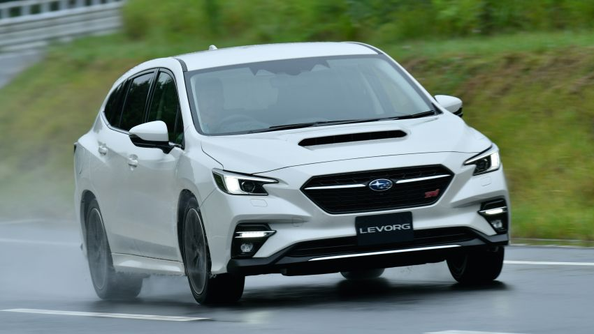 2020 Subaru Levorg officially debuts in Japan – SGP platform; new 1.8L turbo boxer engine and EyeSight X Image #1163927