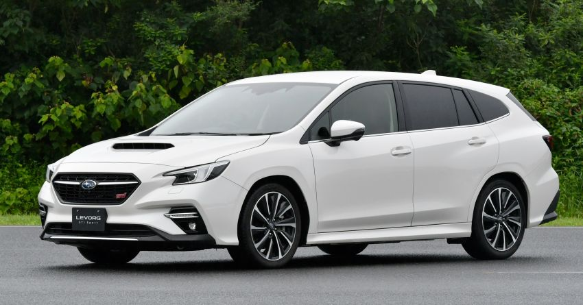 2020 Subaru Levorg officially debuts in Japan – SGP platform; new 1.8L turbo boxer engine and EyeSight X Image #1163929