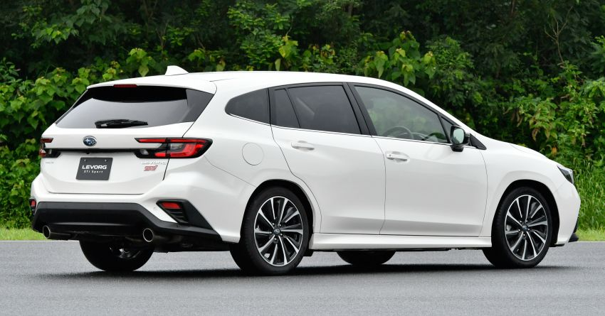 2020 Subaru Levorg officially debuts in Japan – SGP platform; new 1.8L turbo boxer engine and EyeSight X Image #1163931