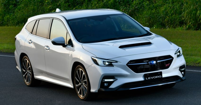 2020 Subaru Levorg officially debuts in Japan – SGP platform; new 1.8L turbo boxer engine and EyeSight X Image #1163937