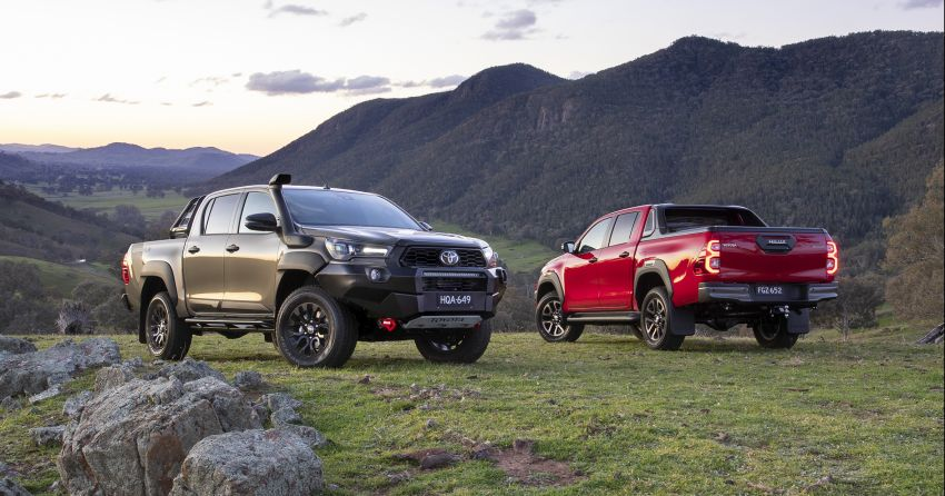 2020 Toyota Hilux arrives in Australia – gains updated 201 hp/500 Nm 2.8L turbodiesel, Toyota Safety Sense Image #1160331