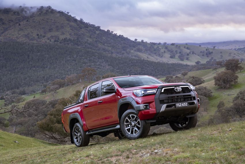 2020 Toyota Hilux arrives in Australia – gains updated 201 hp/500 Nm 2.8L turbodiesel, Toyota Safety Sense Image #1160335