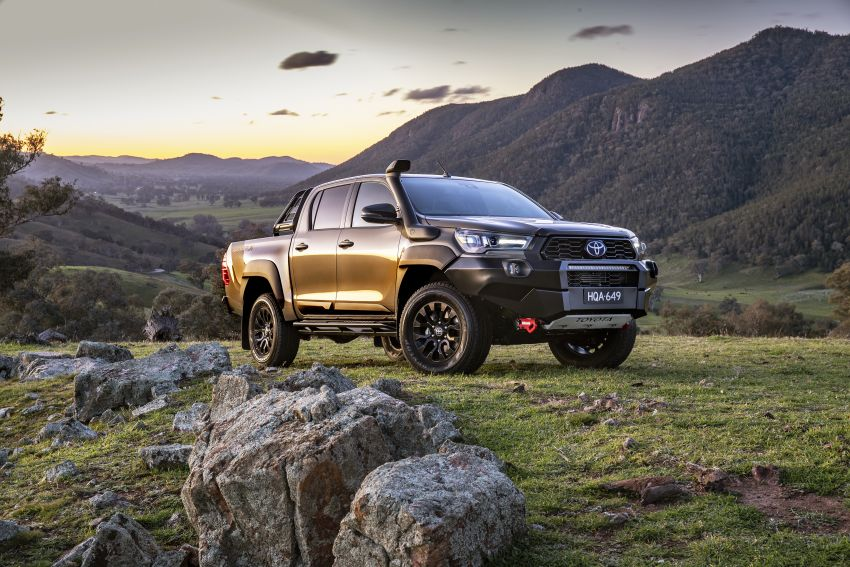 2020 Toyota Hilux arrives in Australia – gains updated 201 hp/500 Nm 2.8L turbodiesel, Toyota Safety Sense Image #1160336