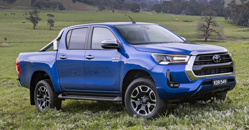 2020 Toyota Hilux arrives in Australia – gains updated 201 hp/500 Nm 2.8L turbodiesel, Toyota Safety Sense Image #1160340