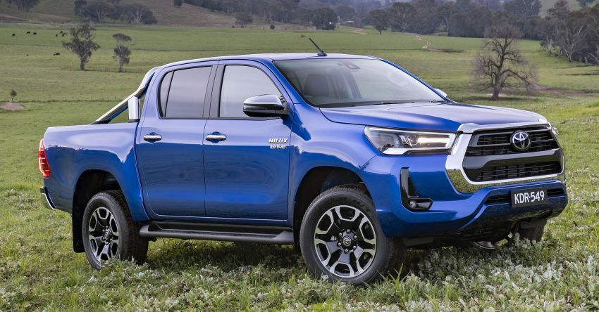 Toyota Hilux 2020 tiba di Australia — terima enjin 2.8L turbodiesel dikemaskini dan Toyota Safety Sense Image #1160406