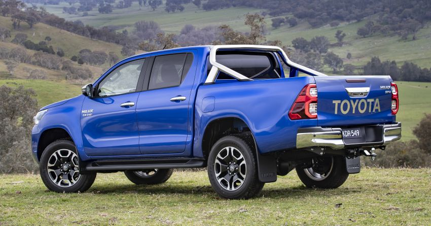 2020 Toyota Hilux arrives in Australia – gains updated 201 hp/500 Nm 2.8L turbodiesel, Toyota Safety Sense Image #1160339