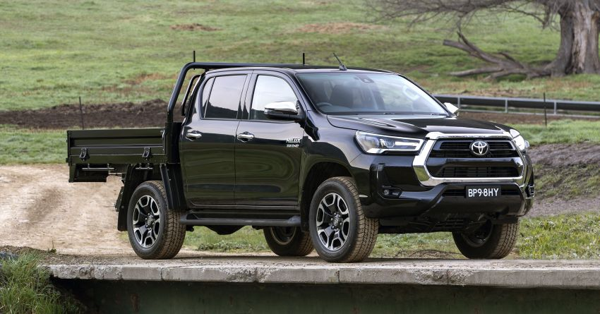 2020 Toyota Hilux arrives in Australia – gains updated 201 hp/500 Nm 2.8L turbodiesel, Toyota Safety Sense Image #1160338