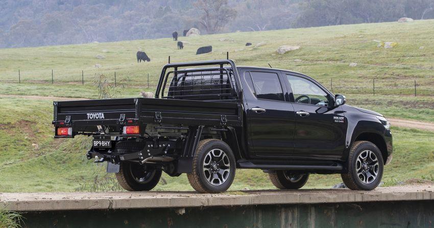 Toyota Hilux 2020 tiba di Australia — terima enjin 2.8L turbodiesel dikemaskini dan Toyota Safety Sense Image #1160410