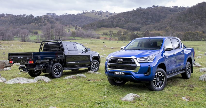 2020 Toyota Hilux arrives in Australia – gains updated 201 hp/500 Nm 2.8L turbodiesel, Toyota Safety Sense Image #1160330