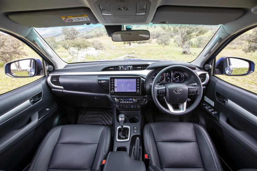 2020 Toyota Hilux arrives in Australia – gains updated 201 hp/500 Nm 2.8L turbodiesel, Toyota Safety Sense Image #1160342