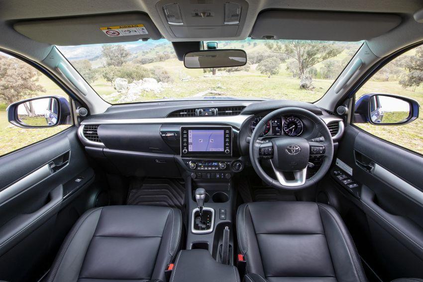 Toyota Hilux 2020 tiba di Australia — terima enjin 2.8L turbodiesel dikemaskini dan Toyota Safety Sense Image #1160411