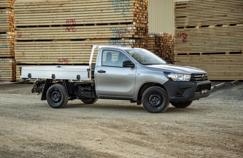 Toyota Hilux 2020 tiba di Australia — terima enjin 2.8L turbodiesel dikemaskini dan Toyota Safety Sense Image #1160412