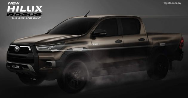 2020 Toyota Hilux Facelift For Malaysia From Rm94k Rm149k New 2 8l Rogue With Toyota Safety Sense Paultan Org