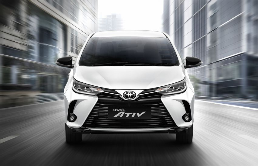 2020 Toyota Yaris and Yaris Ativ facelift launched in Thailand – now with AEB and new styling; from RM72k Image #1164141