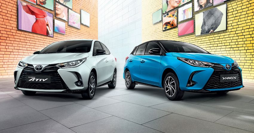 2020 Toyota Yaris and Yaris Ativ facelift launched in Thailand – now with AEB and new styling; from RM72k Image #1163686