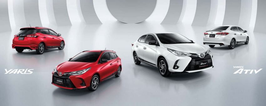 2020 Toyota Yaris and Yaris Ativ facelift launched in Thailand – now with AEB and new styling; from RM72k Image #1163695