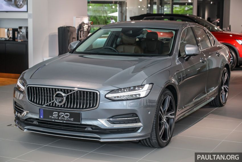 Volvo S90 T8 Special Edition – T8 Inscription with bodykit, 20-inch wheels worth RM35k, same price Image #1162361