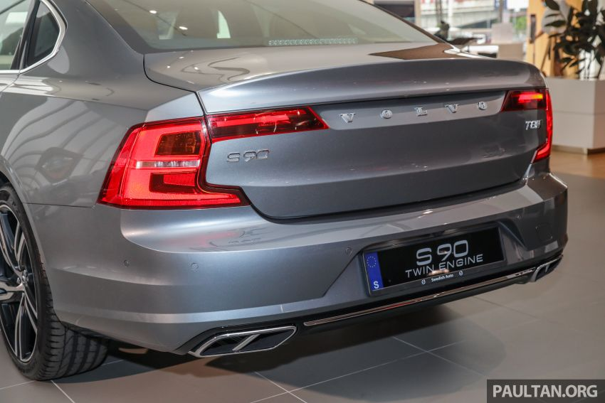 Volvo S90 T8 Special Edition – T8 Inscription with bodykit, 20-inch wheels worth RM35k, same price Image #1162379