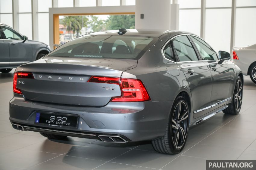 Volvo S90 T8 Special Edition – T8 Inscription with bodykit, 20-inch wheels worth RM35k, same price Image #1162362
