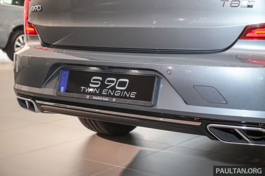 Volvo S90 T8 Special Edition – T8 Inscription with bodykit, 20-inch wheels worth RM35k, same price Image #1162384