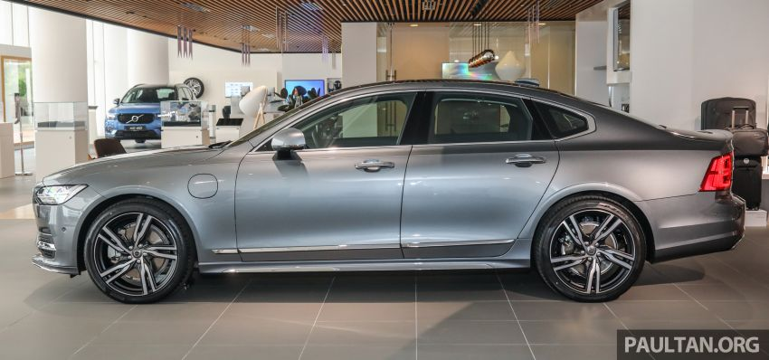 Volvo S90 T8 Special Edition – T8 Inscription with bodykit, 20-inch wheels worth RM35k, same price Image #1162363