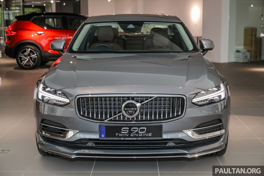 Volvo S90 T8 Special Edition – T8 Inscription with bodykit, 20-inch wheels worth RM35k, same price Image #1162364