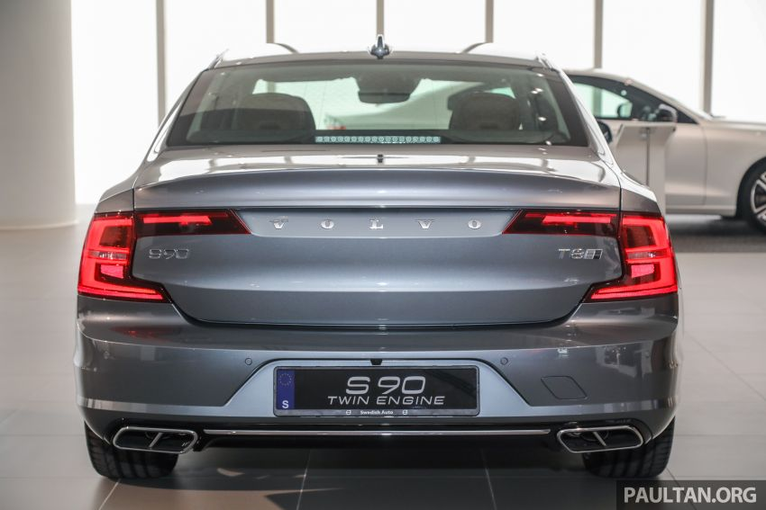 Volvo S90 T8 Special Edition – T8 Inscription with bodykit, 20-inch wheels worth RM35k, same price Image #1162365