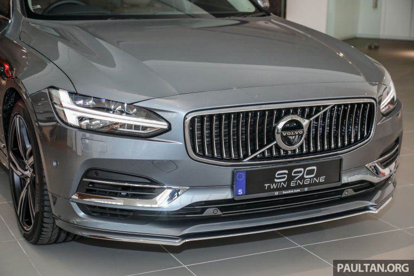 Volvo S90 T8 Special Edition – T8 Inscription with bodykit, 20-inch wheels worth RM35k, same price Image #1162366