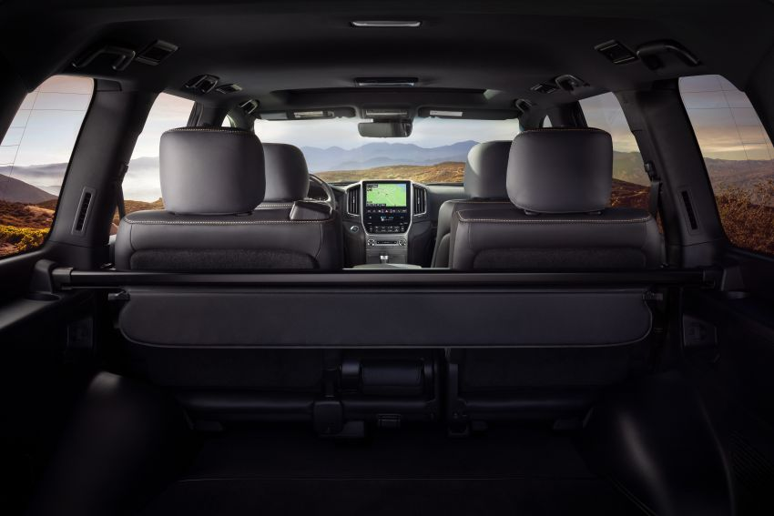 2021 Toyota Land Cruiser Heritage Edition for the US – 5.7 litre V8 now with third-row seating, new colours Image #1154688