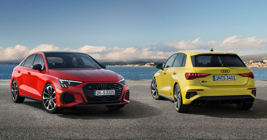2021 Audi S3 Sedan, Sportback debut – AMG A35 rival with 2.0L TFSI; 310 PS & 400 Nm, 0-100 in 4.8 seconds Image #1158726