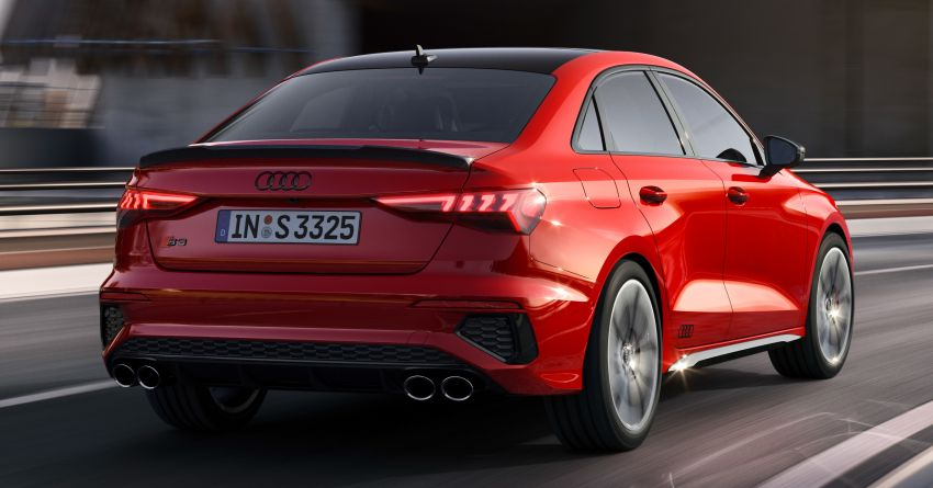 2021 Audi S3 Sedan, Sportback debut – AMG A35 rival with 2.0L TFSI; 310 PS & 400 Nm, 0-100 in 4.8 seconds Image #1158719