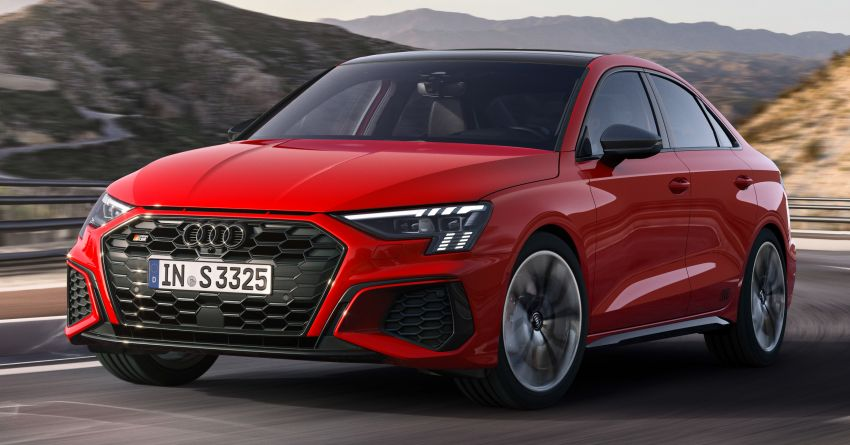 2021 Audi S3 Sedan, Sportback debut – AMG A35 rival with 2.0L TFSI; 310 PS & 400 Nm, 0-100 in 4.8 seconds Image #1158721