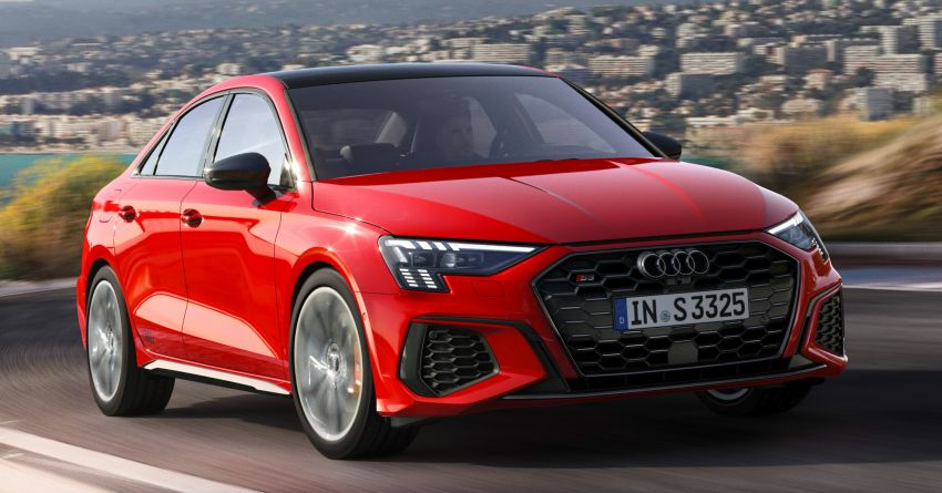 2021 Audi S3 Sedan, Sportback debut – AMG A35 rival with 2.0L TFSI; 310 PS & 400 Nm, 0-100 in 4.8 seconds Image #1158722