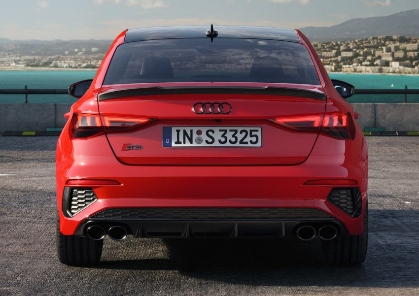 2021 Audi S3 Sedan, Sportback debut – AMG A35 rival with 2.0L TFSI; 310 PS & 400 Nm, 0-100 in 4.8 seconds Image #1158712