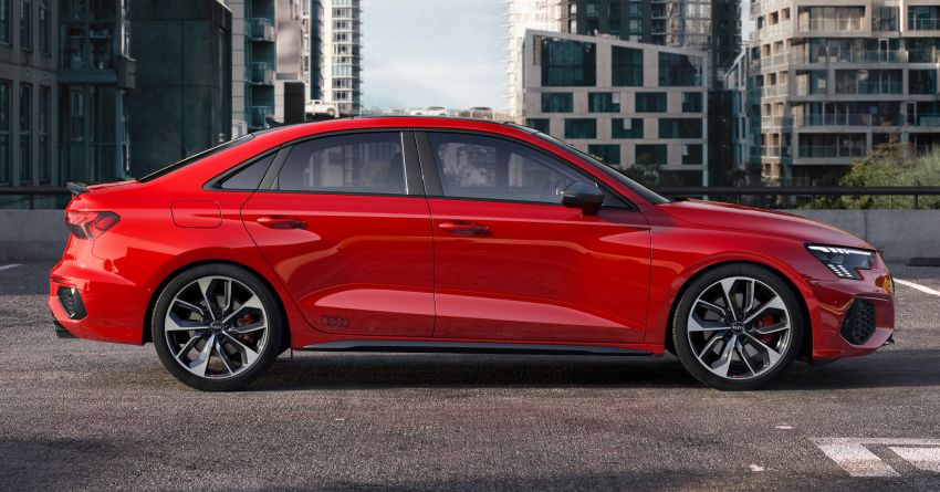 2021 Audi S3 Sedan, Sportback debut – AMG A35 rival with 2.0L TFSI; 310 PS & 400 Nm, 0-100 in 4.8 seconds Image #1158713