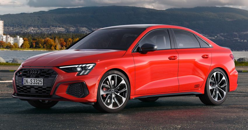 2021 Audi S3 Sedan, Sportback debut – AMG A35 rival with 2.0L TFSI; 310 PS & 400 Nm, 0-100 in 4.8 seconds Image #1158715